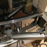 34インチのウルトラワイドモニターにエルゴトロンOEMのHPモニターアームを取り付けた